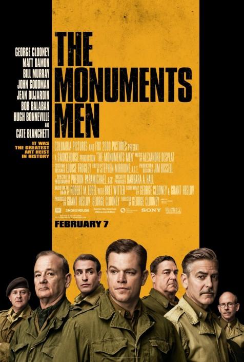 Monuments Men Clooney recensione